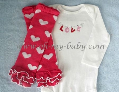 "Personalized Valentine ""Love on the Line"" Set"
