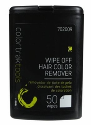 6023 Wipe Off Hair Color Remover Towelette Wipes 50 Count Canister