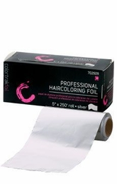 "CT-250-S 5""X250-ft Roll for 6045 Cut & Fold Haircoloring Foil Dispenser"