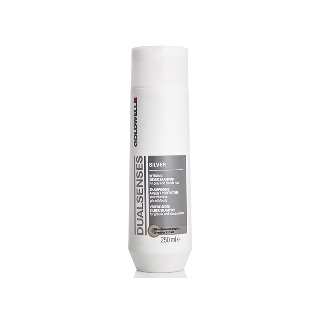 Goldwell Dualsenses Silver Refining Silver Shampoo For Gray