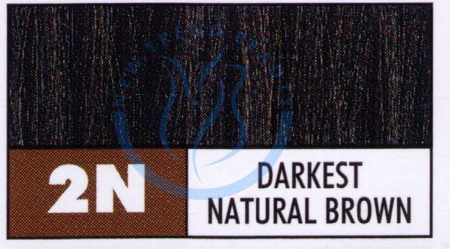 Paul Mitchell The Color Permanent Cream Hair Color 3oz 2n Darkest Brown