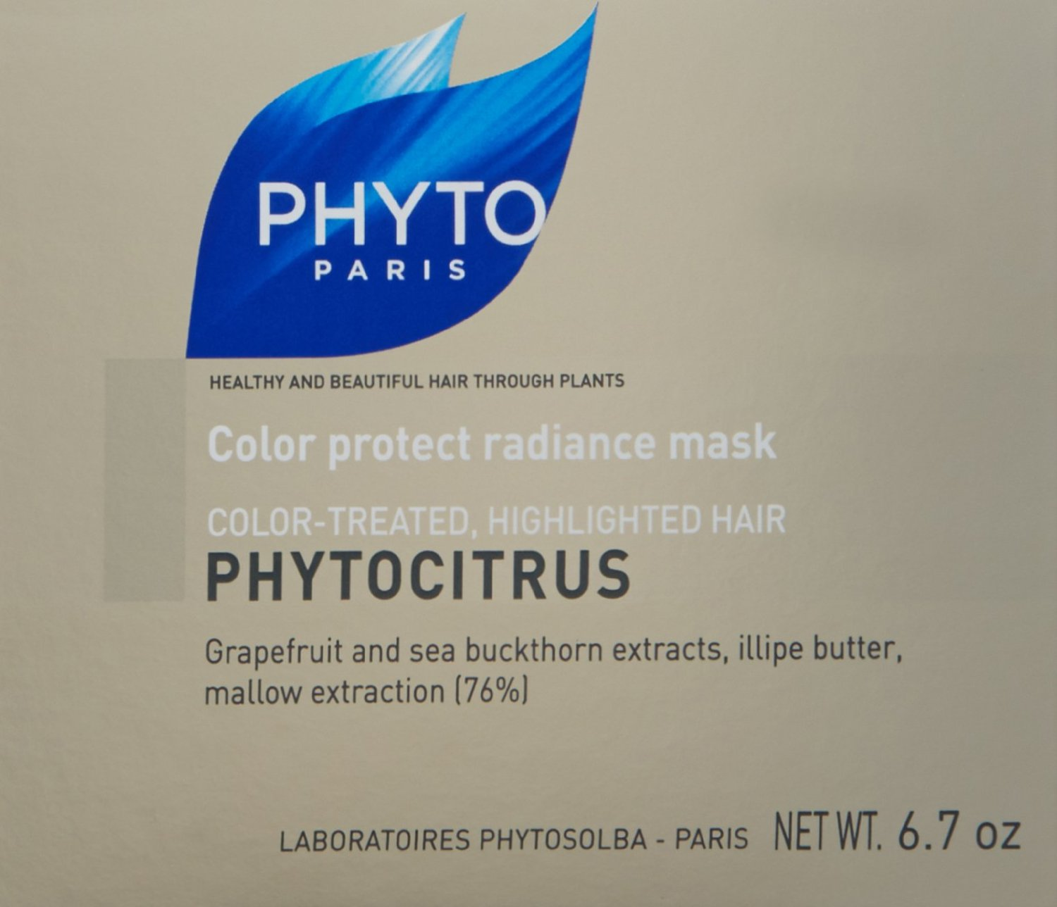 Phyto Phytocitrus Color Protect Radiance Mask For Color Treated