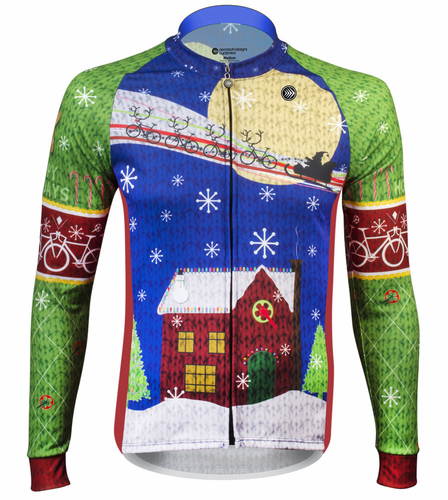 2016 Christmas Cycling Jersey - Festive and fun for the holidays!