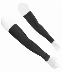 Aero Tech Arm Warmers - Stretch Fleece Removable Sleeves