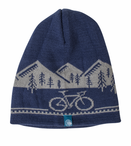 Aero Tech Bicycle Adventure Beanie Hat - Winter Weight Knitted Cap