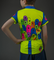 Aero Tech Child's Glow Worms Cycling Jersey - Glows Under Blacklight
