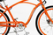Aero Tech Design's Orange Electric Bicycle Classic Frame