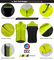 Aero Tech Designs Elite Cycling Gilet - High Visibility