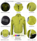Aero Tech Men's Waterproof Breathable Cycle Jacket - Rainwear