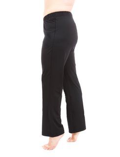 Plus Womens Taffy Black Exercise Pants - Black