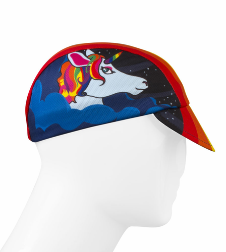 Aero Tech Rush Cycling Caps - Rainbow One of a Kind - Made in USA