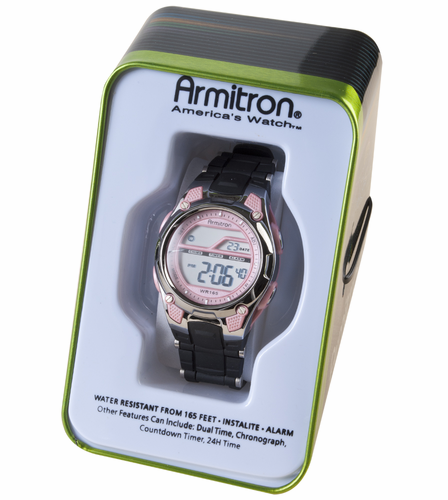 Armitron Ladies Sports Watch Pink 45-6984PNK
