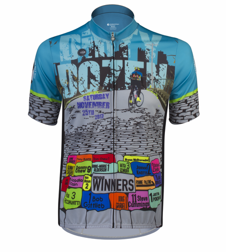 ATD 2017 Dirty Dozen Cycling Jersey - Made in PGH