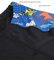 ATD Child's Designer Padded Cycling Shorts - Raining Cats and Dogs - BLUE