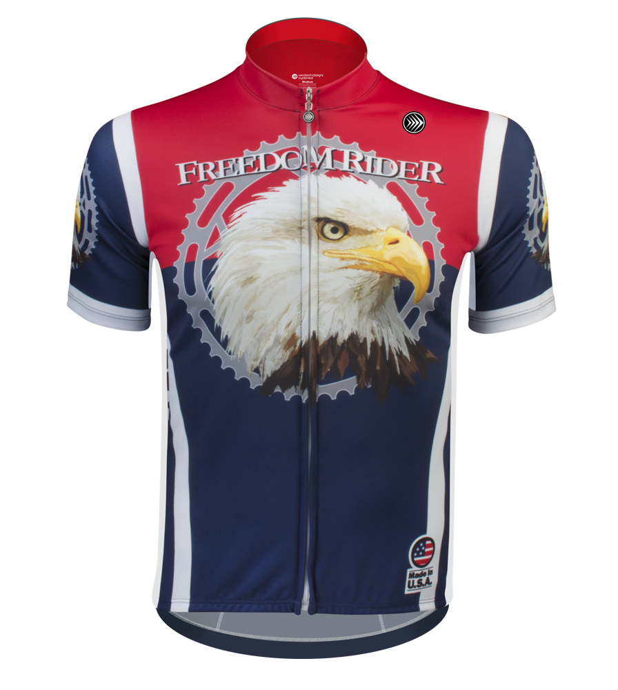 Freedom isn t free cycling jersey - Freedom Isn T Free Cycling Jersey 19