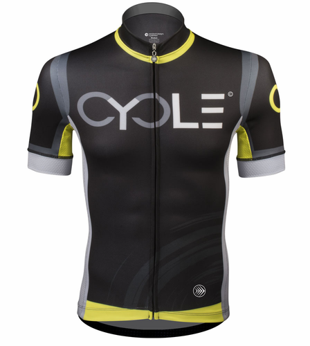 Aero Tech Men's Premiere Racing CYCLE Jersey - High Visibility, Racing Kit