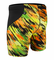 ATD Men's Exercise Short with High Performance Compression - High Visibility Neon
