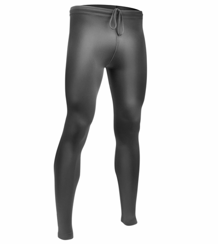 Aero Tech Mens Spandex UNPADDED Fitness Compression Tights BLACK