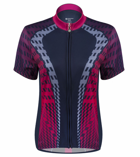 Aero Tech Power Tread Women's Cycling Jersey – Made in USA