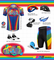 ATD Ride with Pride - Rainbow Print Bike Shorts - Made in USA