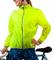 Aero Tech Windbreaker Jacket Visibility Yellow - WOMEN  - Light and Packable
