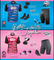 """Aero Tech Women's Pink Tandem Cycling Jersey """"Better Together"""""""