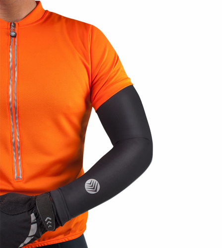 Aero Tech Base Layer Arm Warmer with Reflective Logo