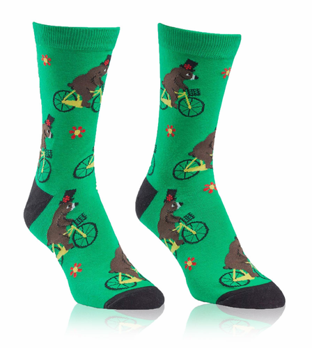 Bearly Moving|Sock It To Me|Women's Crew