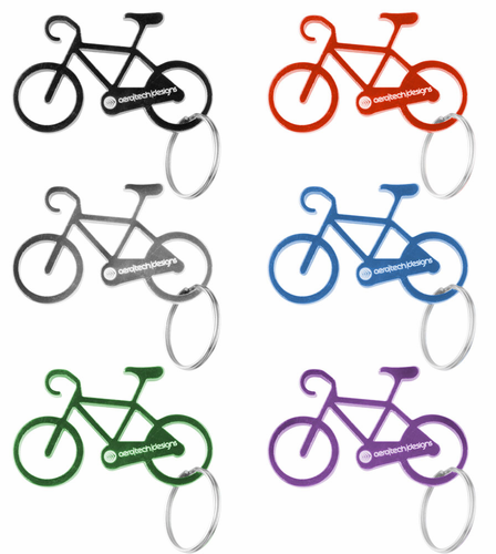 Bicycle Key Chain - Multiple Colors
