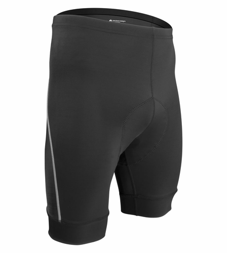 Big Man Clydesdale Padded Bike Shorts - Made in USA