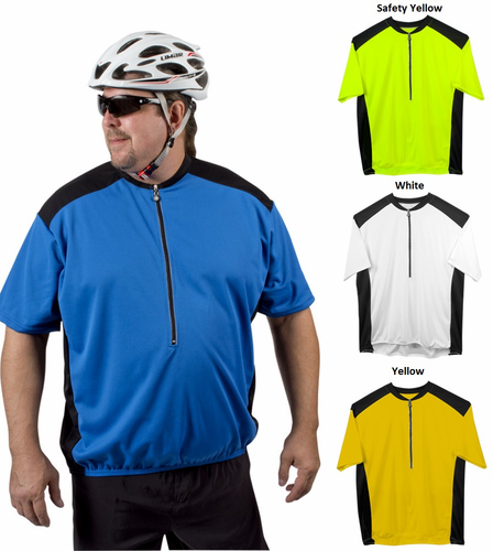 Big Man's Colossal Loose Fit Cycling Jersey