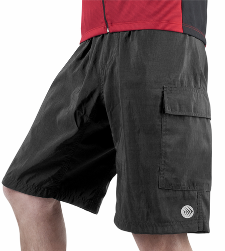 Aero Tech Big Men's Aero Tech Cargo Short Padded for Bicycling