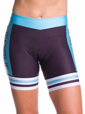Blue Steel Padded Cycling Short - Coeur Sports