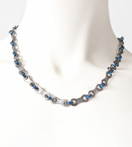 Aero Tech Chain Link Necklace by Erra Creations