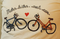 Cycling T-Shirt Bike Love by Cyclelogical