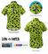 Din-O-Mite Kids Green Cycling Jersey