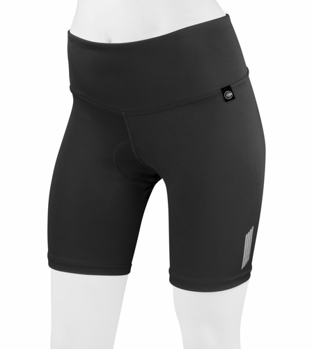FIT 8 Inch Thrive Slenderizing Padded Cycling Short