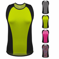 Goddess Fit and Slim Sleeveless Cycling Jersey for Women