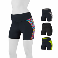 Goddess Padded Mini Bike Short - Padded Cycling Shorts w 4 inch Inseams