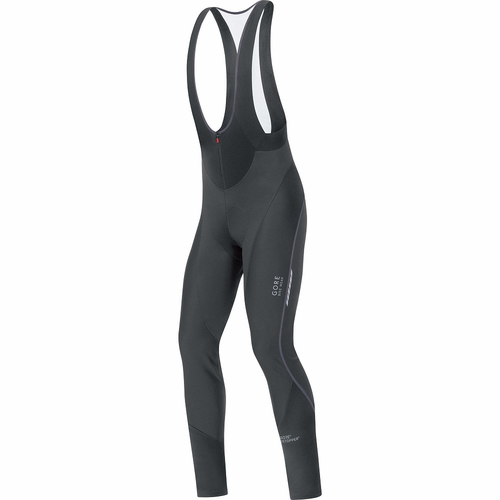 Gore Mens Oxygen Windstopper Softshell Bibtights