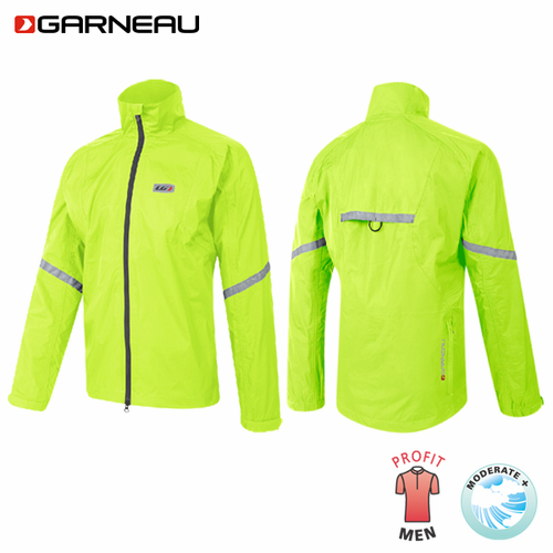 Louis Garneau Kamloops Waterproof Cycling Jacket Bright Yellow Size: Sm