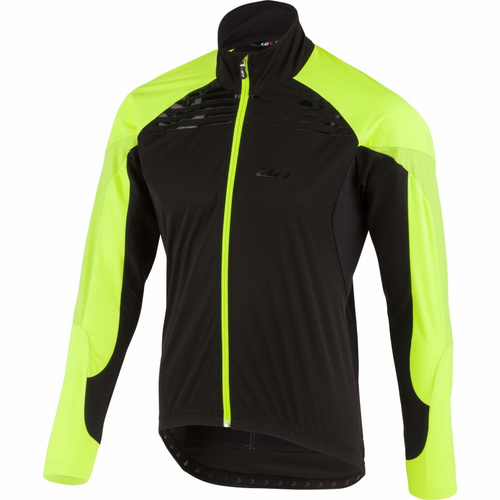 Louis Garneau Glaze RTR Jacket - Blk/Safety Yellow