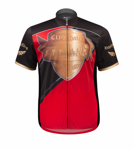 Clydesdale Hardy Drafter - Plus Sized Cycling Jersey