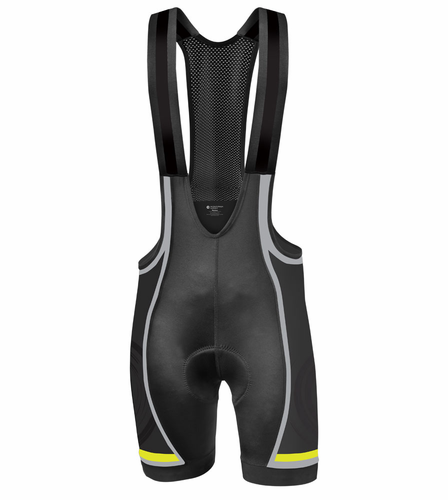 CYCLE - Premiere Men's Bib Shorts - High end kit with quality fabrics