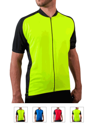 Aero Tech Men's Full-Zip Club Cycling Jersey