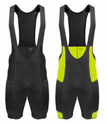 Men�s Gel Touring Bib Shorts - with Innovative Mesh Pockets | Made in USA