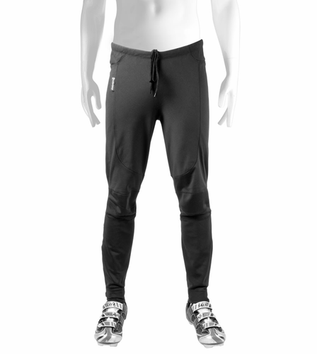 Aero Tech Mens Thermal WindStopper Tights - Softshell Pant for Cold Weather