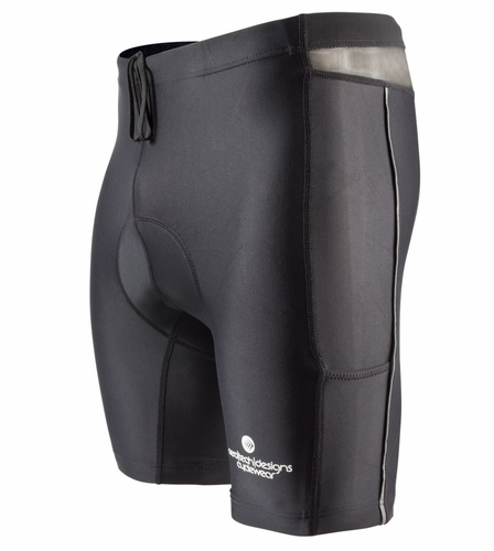 New Men's Padded Spinning Short Compression for Spin Class