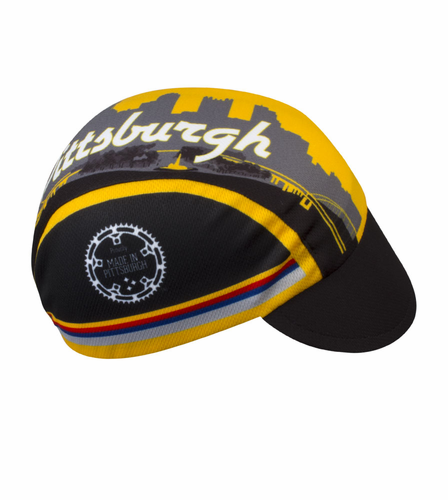 Aero Tech Rush Cycling Caps – Pittsburgh – Proudly Made in USA