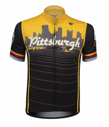 Pittsburgh Themed Bike Jersey � Proudly Made In Pittsburgh